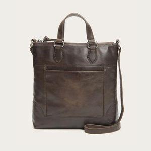 NWOT Frye Melissa Small Tote Crossbody Bag Slate